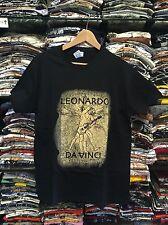 "T-shirt Unisex Leonardo Da Vinci ""Uomo Vitruviano Chitarrista"""