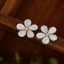 TOP Vingate Fresh Flower Jewelry Sakura Flower Cute Vintage Ear Stud Earrings