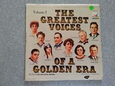 The Greatest Voices Of A Golden Era - Volume 1 LP Record DLP 121
