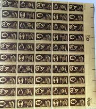 Us Postage Stamps 1 Sheet Scott #1456 - 59 American Craftsmen 8 Cent Mnh
