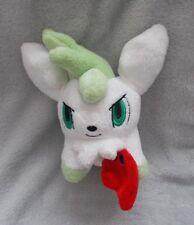 "VERY RARE Nintendo 2010 - Pokemon - 6"" Sky Form Shamin - Soft Toy / Plush Teddy"