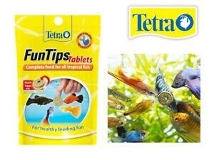 Tetra FunTips Tablets 8g - 20 Adhesive Fish Food Tablets