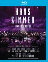 Hans Zimmer: Live in Prague Blu-Ray (2017) Hans Zimmer cert E ***NEW***