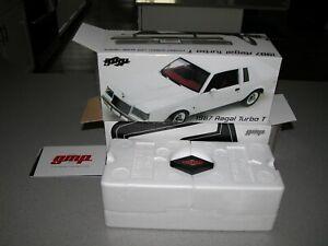 GMP Part No. 8204 - 1987 Buick White Turbo Regal T - 1:24 Scale - NIB - RARE