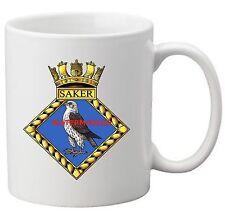 HMS SAKER COFFEE MUG
