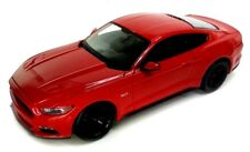Ford Mustang GT 2015 Model Car Diecast Metal Scale 1:36 Opening Doors RED