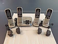 Uniden Dect 6.0 D1680 4 Handsets w/ Bases Answering System Cordless Phones