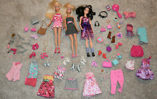 Barbie Doll Clothing & Accessories Lot Raquelle Shoes Purses Clothes Jewelry