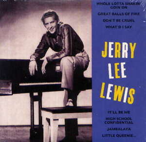 JERRY LEE LEWIS -  Great balls of fire - CD album -  sealed