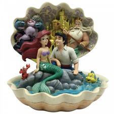 Disney Traditions Seashell Scenario Figurine 6005956 Little Mermaid Ariel Figure