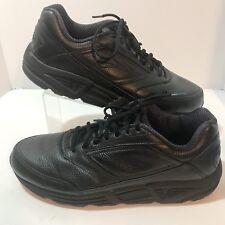 Brooks Mens Addiction Running Shoes Size 14M Walker Black Leather EU 48.5