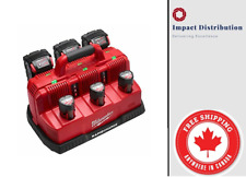 New Milwaukee 48-59-1807 M18 and M12 Rapid charge Station (No batteries)