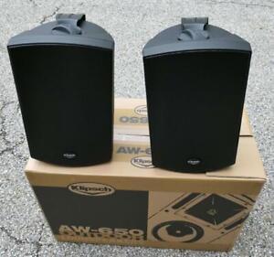 Klipsch AW-650 Outdoor speakers (Black) PAIR