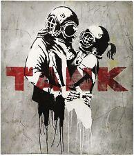 Banksy - Tank. Ed. 300 uds Firma impresa. Num. a lapiz. Certif. Edicion