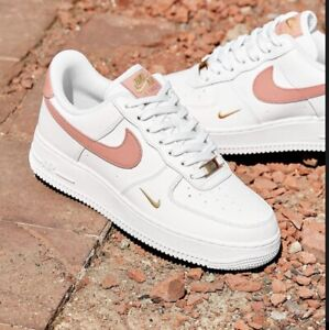Nike Air Force 1 Low White Rust Pink All Sizes Limited Stock
