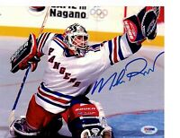 Mike Richter PSA Autograph 8x10 photo New York Rangers NHL Stanley Cup Champ