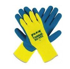 Flex-Therm Hi Vis, 7 Gauge, High Visibility Yellow Latex Dip 9690Y  LARGE