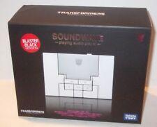 Takara Transformers Music Label Soundwave MP3 Player BLASTER BLACK Ver. CASEFRSH