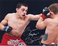 "RYAN BENOIT SIGNED ""BABY FACE"" 16x20 PHOTO UFC MMA 2013 FIGHT FINALE w/ JSA COA"