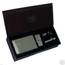 Hammer Cufflinks Tie Clip Money Clp & Card Case Gift Set X4IN1 - 8