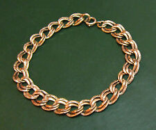 Antikes 585er Jugendstil GOLD-ARMBAND fein verziert ~1900 • 5,8 g • Goldarmband