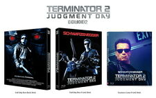 Terminator 2 : Judgment Day (Blu-ray) FULL SLIP Box Scanavo Case / Region ALL
