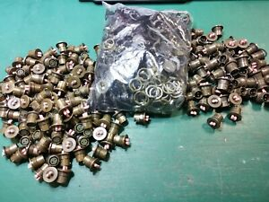 Clansman 2 Pin Circular Power Connectors Joblot Male And Female Panel Mount