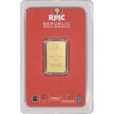 5 gram RMC Gold Bar - Republic Metals Corp - 999.9 Fine in Sealed Assay