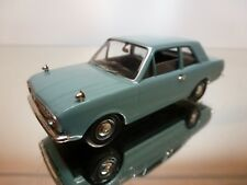 VANGUARDS FORD CORTINA MK II - BLUE/GREY 1:43 - EXCELLENT CONDITION - 15
