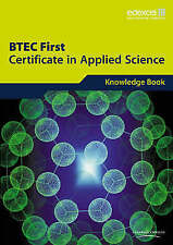 Edexcel BTEC First Certificate in Applied Science:  Knowledge Book, 4Science   P