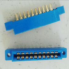"10pc Card Edge Connector Double Row 20 Pin .156"" 3.96mm Pitch Slot Solder Socket"
