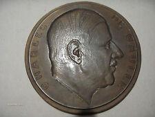 MEDAILLE MEDAL CHARLES DE GAULLE 25 AOUT 1944 18 JUIN 1940
