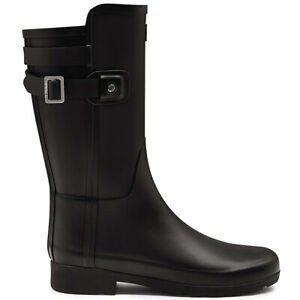 Ladies Hunter Original Refined Back Strap Short Waterproof Winter Boot All Sizes