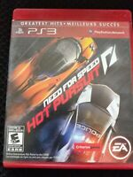 Need For Speed: Hot Pursuit (Sony Playstation 3, 2010) Greatest Hits