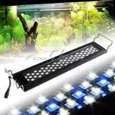 """60LEDs White Blue 0.5W LED Light Full Spectrum Aquarium Fish Tank Light 18""""-26"""""""