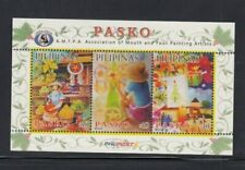 PHILIPPINES Association of Mouth & Foot Painting Artists MNH souvenir sheet