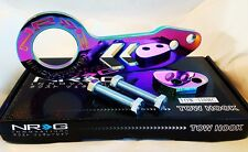 NRG Rear Tow Hook Kit Honda & Acura Universal JDM Style (Neo Chrome)
