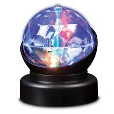 KALEIDOSCOPE LAMP  - 20588 LIGHT SENSORY ROTATING DISCO BALL SPINNING SPHERE ORB