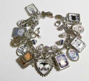 Supernatural Winchesters Charm Bracelet Hand Crafted