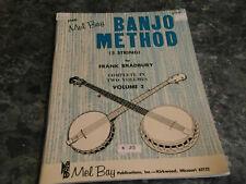 The Mel Bay Banjo Method 5 String Volume 2 by Frank Bradbury