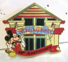 WORLD OF DISNEY PIN CAST MEMBER EXCLUSIVE 10TH ANNIVERSARY 2009  ARTIST'S PROOF