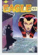 EAGLE (1986)  #2 Crystal Comics  VF/NM 9.0