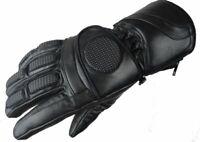 Bangla Winter Motorradhandschuhe Motorrad Handschuhe gefüttert Schwarz XS - XXL