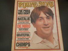 Robert De Niro, Martin Scorsese, Grateful Dead - Rolling Stone Magazine 1977