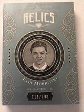 2016-17 Black Diamond Josh Morrissey Booklet Jersey /299 Relics Upper Deck 16/17