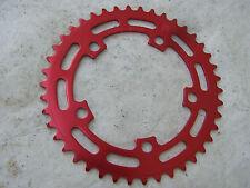 SUGINO CHAIN RING 42 RED NOS SPROCKET BMX CRUISER RACING FREESTYLE BICYCLE