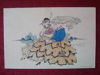 ARTIST SIGNED POSTCARD / WIEN - MELA KOEHLER / 1920