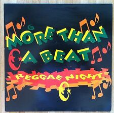 "MORE THAN A BEAT Regae Night 12""-Maxi/GER"