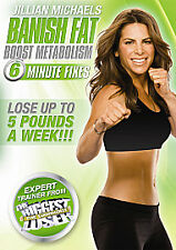 Jillian Michaels - Banish Fat, Boost Metabolism (DVD, 2010)