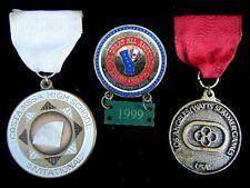 3 Usa Sport Medals Medal- Costa Mesa School, Youth Circus Redlands, Watts Summer
